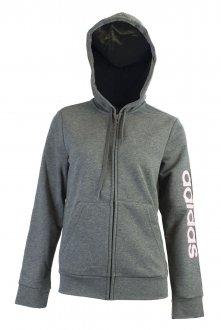 Imagem - Jaqueta Moletom Feminina Adidas Linear Essentials cód: 049784