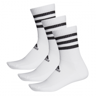 Imagem - Meia Cano Alto Adidas 3 Pack 3-Stripes cód: 057729