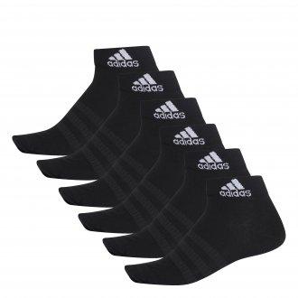 Imagem - Meia Cano Médio Adidas 6 Pack Ligth Ank Masculina cód: 060206