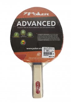 Imagem - Raquete Tenis de Mesa Poker Advanced cód: 055460