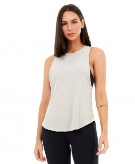 Imagem - Regata Alto Giro Skin Fit Alongada Feminina cód: 060156