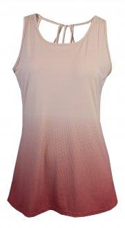 Imagem - Regata Alto Giro Skin Fit Degradê Detalhe Costas Feminina cód: 052041