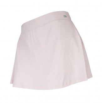 Imagem - Saia Alto Giro Skin Fit Recorte Diagonal Feminina cód: 056332