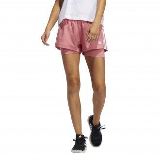 Imagem - Shorts 2 Em 1 Adidas Pacer Feminino cód: 060308