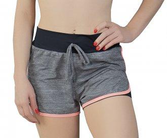 Imagem - Shorts 2 Em 1 Rola Moça Crossfit Feminino cód: 052535