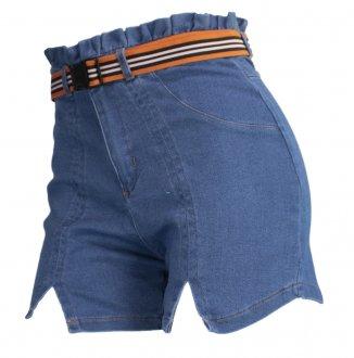 Imagem - Shorts Alto Giro Zouk Blue Feminino cód: 052047