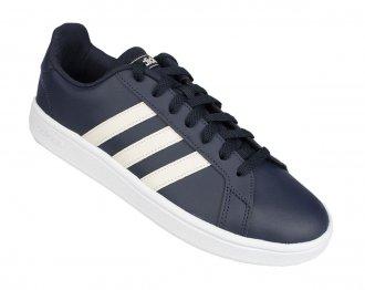Imagem - Tênis Casual Adidas Grand Court Base Masculino    cód: 055156