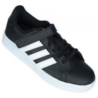 Imagem - Tênis Casual Adidas Grand Court C Infantil cód: 060196