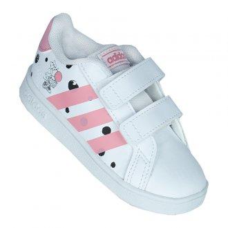 Imagem - Tênis Casual Adidas Grand Court I Infantil cód: 060640