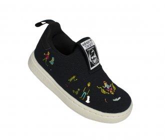Imagem - Tênis Casual Adidas Stan Smith 360 Kids cód: 053780