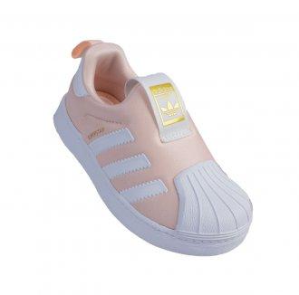 Imagem - Tênis Casual Adidas Superstar 360 I Kids cód: 049878
