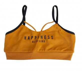 Imagem - Top Infantil Alto Giro Suplex Light Happiness   cód: 049481
