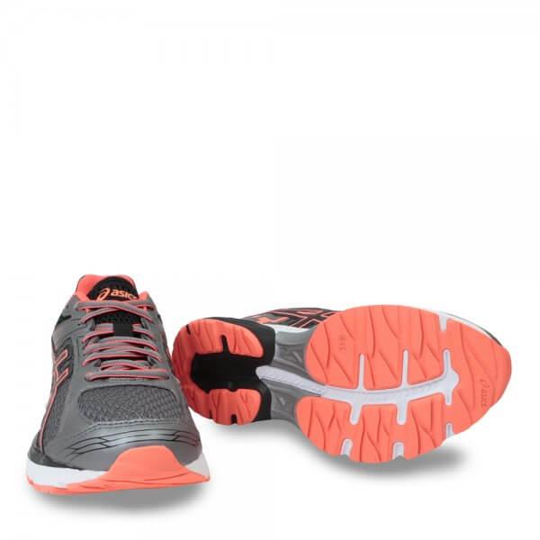 tenis asics feminino laranja usada