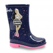 Imagem - Bota Galocha Infantil Grendene Barbie Fashion 22560 Menina