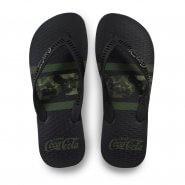 Imagem - Chinelo de Dedo Coca Cola Vintage Forest CC3108 Masculino