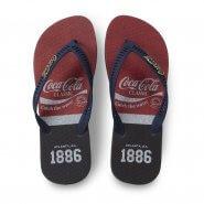 Imagem - Chinelo de Dedo Coca Cola CC3027 Logo Masculino