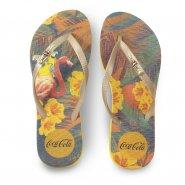Imagem - Chinelo de Dedo Coca Cola Tropical CC2991 Feminino