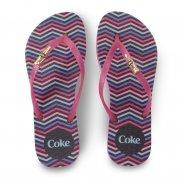 Imagem - Chinelo de Dedo Coca Cola Colorful CC3060 Feminino