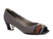 Peep Toe Piccadilly Tweed
