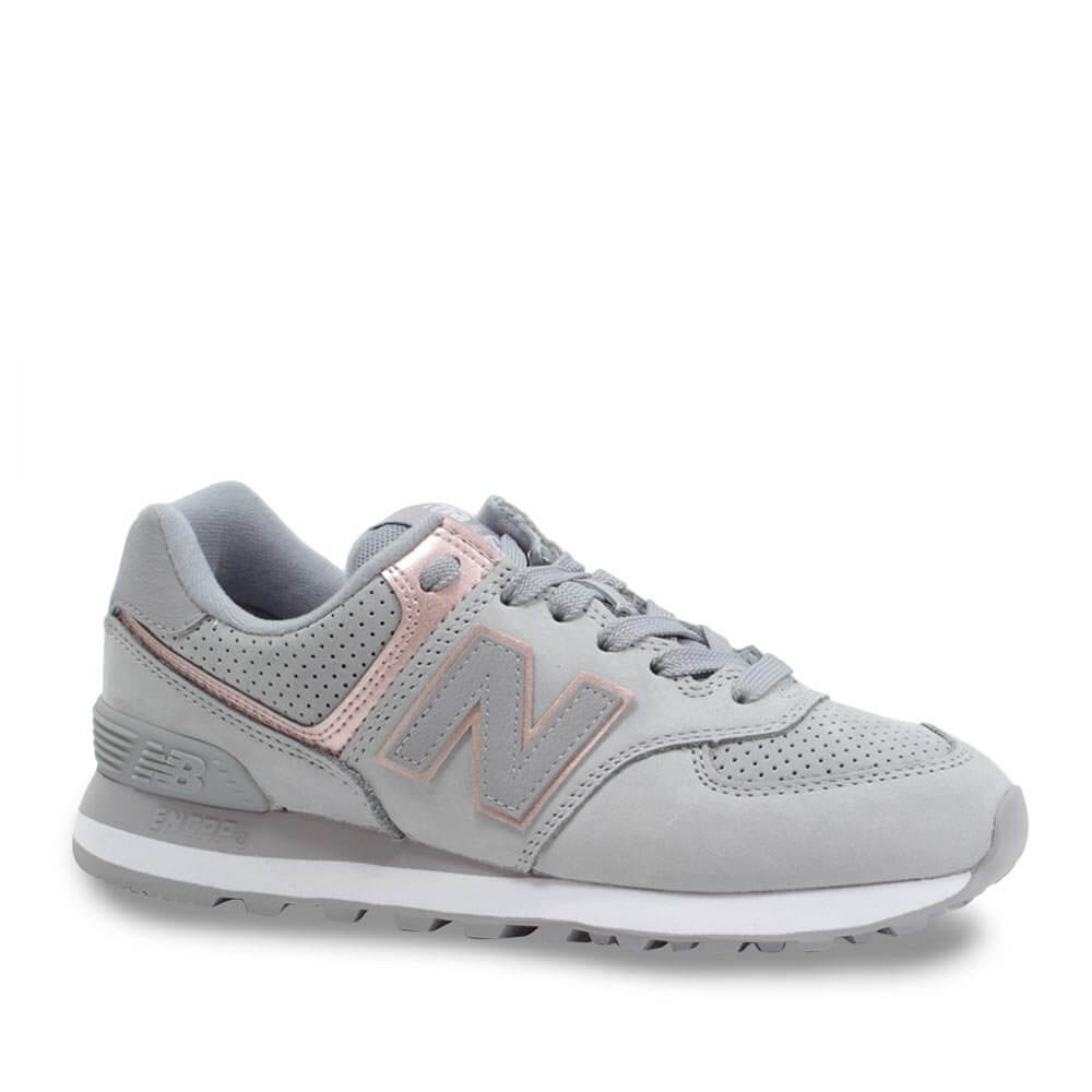 2f136c5cefe Tênis Casual Feminino New Balance Classic Traditionnels 574