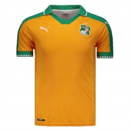 Imagem - Puma Camisa Costa Do Marfim Laranja                                                            Confeccao Masculina Camis