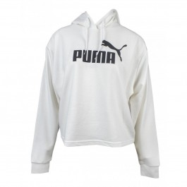 Imagem - Puma Moleton Essentials Cropped Hood Branco