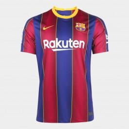 Imagem - Nike Camisa Barcelona Boys Brt Stadium Azul Bordo