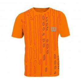 Imagem - Wilson Camiseta Performance Ii Laranja