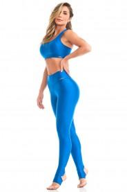 Imagem - Caju Brasil Legging Atletika Yoga Azul