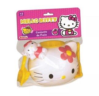 Balde de Praia Hello Kitty