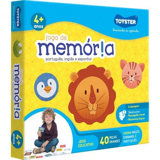 Jogo da Memória Toyster