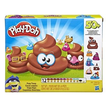 Play Doh Caquinha Divertida