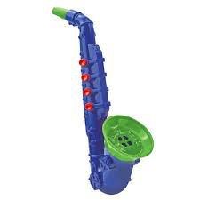 Imagem -  Instrumento Musical - Saxofone - Pj Masks - Azul e Verde cód: F60913