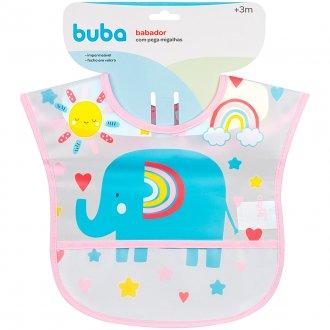 Imagem - Babador com Bolso Elefante - Buba cód: 44867