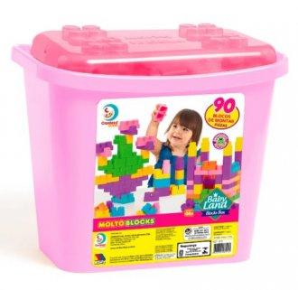Imagem - Baby Land - Blocks Box 90 Blocos cód: F59018