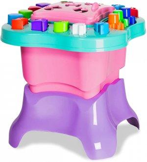 Imagem - Baby Land Mesa de Atividades Menina - Cardoso Toys Rosa cód: F63842