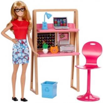 Imagem - Barbie Móveis e Acessórios - Escritório  cód: P11078