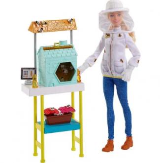 Imagem - Barbie Profissões Cuidadora de Abelhas cód: P10097