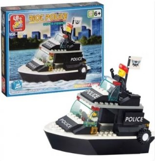 Imagem - Blocos Policia Guarda Costeira 98 peças  cód: F57919