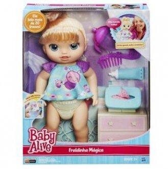 Imagem - Boneca Baby Alive Fraldinha Mágica cód: P11622