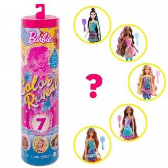 Imagem - Boneca Barbie Tubo Surpresa Color Reveal Festa de Confetti cód: F64066