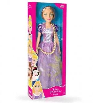 Imagem - Boneca Rapunzel 80cm - Babybrink cód: F59212
