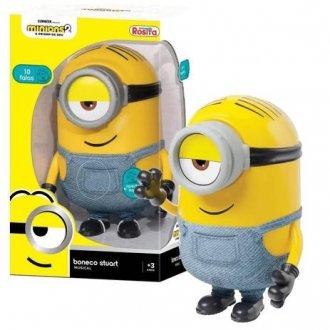 Imagem - Boneco Minions Stuart - Brinquedos Rosita cód: F63960