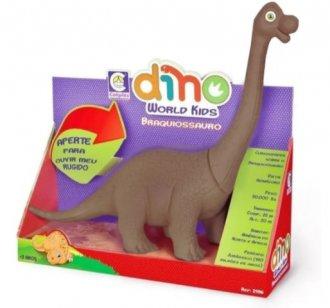 Imagem - Brinquedo Dinossauro Braquiossauro Dino World Kids- Cotiplás cód: F62288