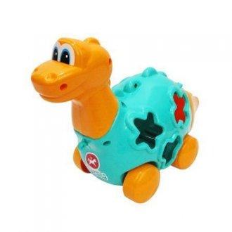 Imagem - Brinquedo Educativo Baby Dinho C/blocos E Puxador Calesita cód: F42141