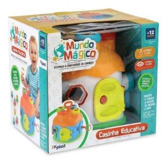 Imagem - Brinquedo Educativo Casinha Educativa Com Blocos HomePlay cód: F58982