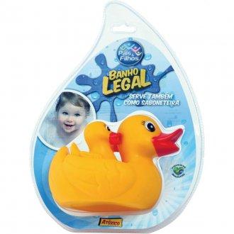 Imagem - Brinquedo para Bebê Pata Mãe para banho  cód: 14755