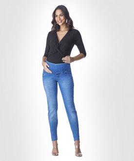 Imagem - Calça Jeans Gestante Skinny Emma Fiorezzi cód: 43993
