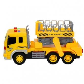 Imagem - Caminhão de Construção com Luz e Som - BBR Toys cód: F93913