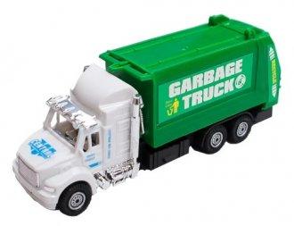 Imagem - Caminhão de Lixo Fricção cód: F58560